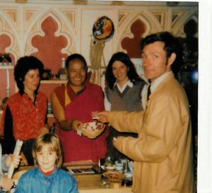 1982 – with Lama Thubten Yeshe
